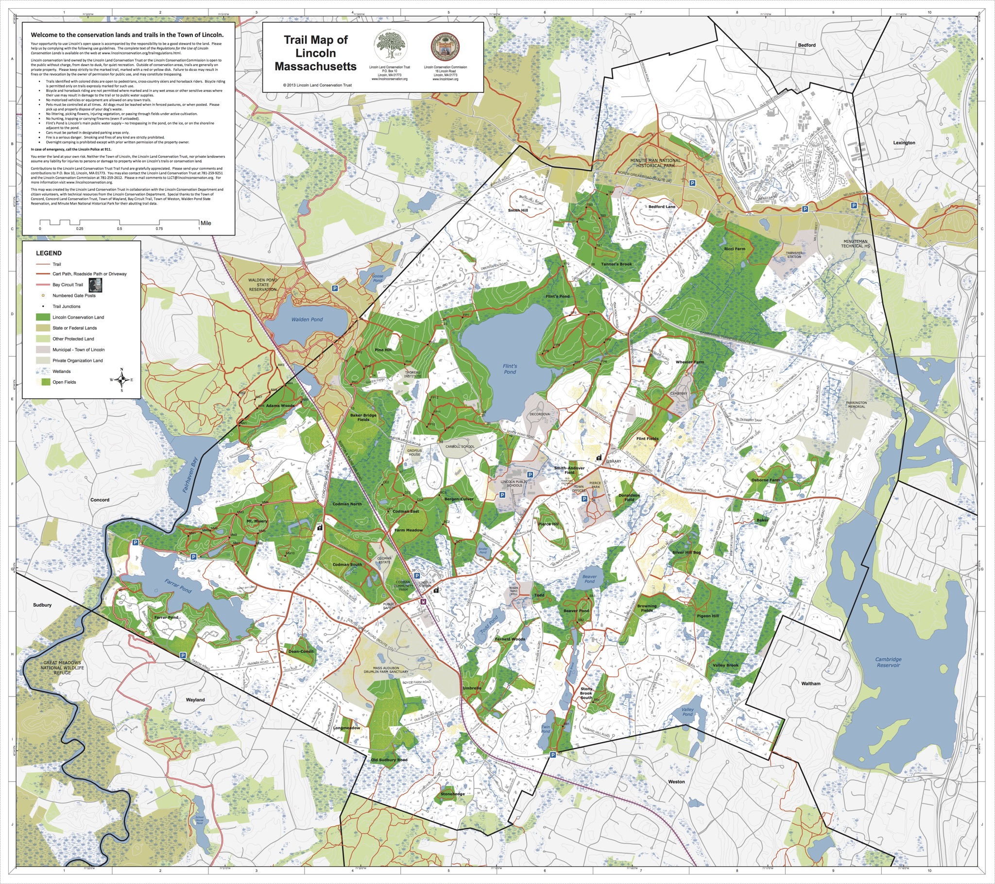 Properties and Trails - Lincoln Land Conservation Trust and Rural ...