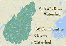 Suasco Cisma Map image