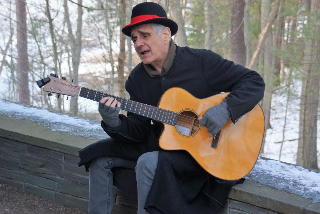 Photo of Bob Davoli at Farrar Pond